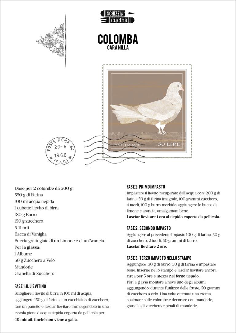 colomba ricetta